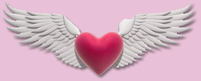 Romantic Valentine Messages - heart wings
